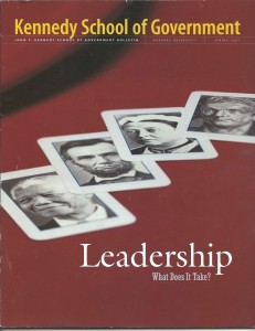 Leadership: What Does it Take?